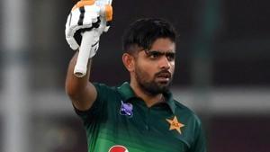 Pakistan's batsman Babar Azam.(AFP)