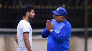 IND vs BAN: Bhuvneshwar trains with Indian Test squad to test fitness