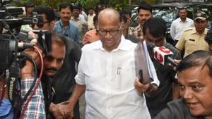 Uddhav Thackeray met NCP chief Sharad Pawar to hammer out the finer details of government formation.(PTI File Photo)