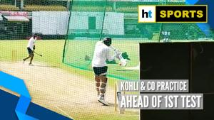 Team India hit the nets ahead of first Test against Bangladesh
