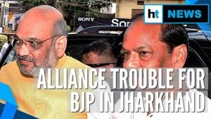 Watch: After Maharashtra, alliance trouble for BJP in Jharkhand before polls