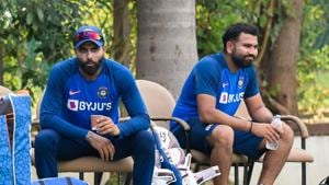 Rohit Sharma and Ravindra Jadeja involved in banter ahead of first Test