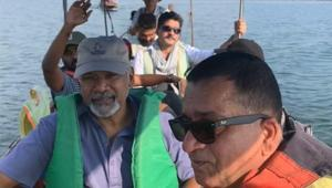 Mani Ratnam scouting for locations in Thailand for Ponniyin Selvan, see pic