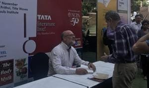 The opening session of this year's Tata LitLive! stood out.(Tata LitLive)