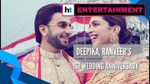 Watch: Deepika, Ranveer reach Tirumala to celebrate 1st wedding anniversary