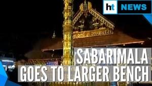Sabarimala case referred to larger SC bench, all-women entry continues