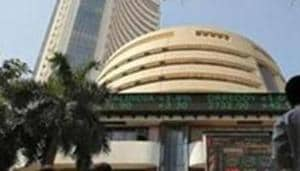 Equity benchmarks Sensex and Nifty started on a volatile note on Thursday as weak domestic macroeconomic data and negative cues from global markets kept investors on edge.(REUTERS)