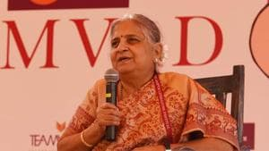 Sudha Murty to deliver 2019 Penguin Annual Lecture.(HT file)