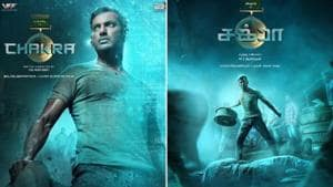 Vishal's next film titled Chakra, first-look posters released