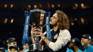 Tsitsipas fights back to beat Thiem and claim ATP Finals title