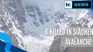 4 soldiers, 2 porters killed after avalanche hits patrol in Siachen glacier