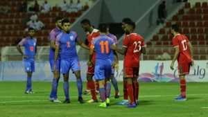 Oman down listless India 1-0 in World Cup qualifying
