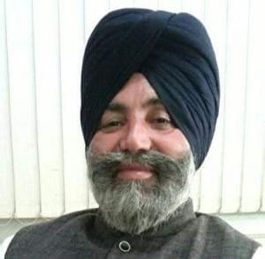 Gurdaspur Akali Dal vice-president Dalbir Singh(HT PHOTO)