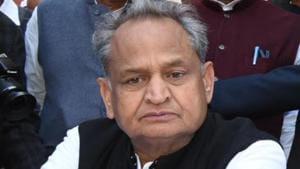 Rajasthan Chief Minister Ashok Gehlot.(HT file)