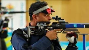 File image of Indian shooter Sanjeev Rajput.(REUTERS)