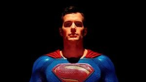 Henry Cavill as Superman in a poster for Justice League.