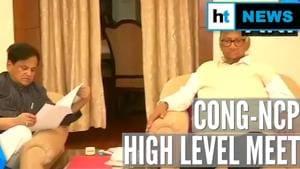 Watch: After PM Modi meet, Sharad Pawar discusses Maharashtra with Congress