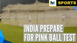 India vs Bangladesh: Kohli & Co sweat it out in nets ahead of Day-Night Test