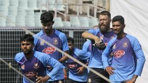 Bangladesh's spin coach Daniel Vettor(AP)