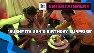 Sushmita Sen birthday: Daughters Renee, Alisah, boyfriend Rohman's surprise