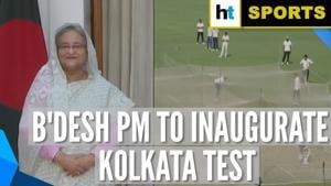 Bangladesh PM Sheikh Hasina special guest at historic Kolkata day-night Test