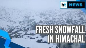 Fresh snowfall in parts of Himachal Pradesh, temperature dips