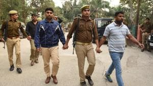 Five senior Home Guard officials were arrested in the case on November 20, 2019.(Virendra Singh Gosain/HT PHOTO)