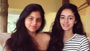 Suhana Khan and Ananya Panday have studied in the same school.