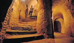 Filled with stairways, grottoes and secret rooms, Levon Arkelyan's underground museum is one of Armenia's biggest tourist attractions .