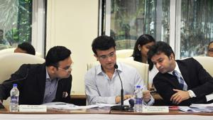 Board of Control for Cricket in India (BCCI) president Sourav Ganguly.(PTI)