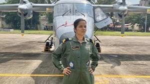 'Nurtured the dream as a 10-yr-old': Indian Navy's first woman pilot Shivangi