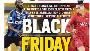Newpsaper's headline catches attention for all the reasons.(AC Milan/Twitter)