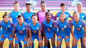 Indian women's football team produced yet another dominant display against Sri Lanka.(AIFF)