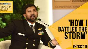 #HTLS2019: Cdr Abhilash Tomy on surviving 72 hrs at sea alone & injured