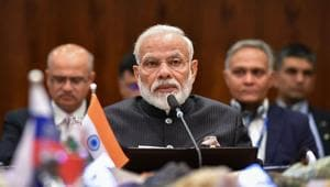 """PM's conversations with the neighbouring country's leaders indicate yet again his continued commitment to the neighbourhood first"""" policy and the special strategic, political, and economic place India's smaller neighbours have in the country's foreign policy matrix(PTI)"""