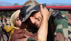 Young Army officer from Kashmir wants youth at home to follow his example