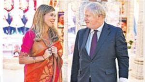 UK PM Boris Johnson in London temple to consolidate British Indian vote