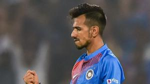 Yuzvendra Chahal one wicket away from setting T20I record for India