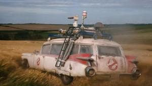 The Ecto 1 is redeployed in the Ghostbusters: Afterlife trailer.