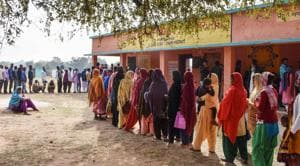 Repolling will be held in booth number 36 in Sesai assembly constituency on Monday(PTI)