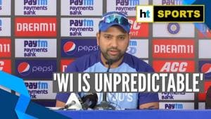 Ind vs WI  'They're very unpredictable': Rohit Sharma ahead of final T20