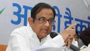 "Senior Congress leader P Chidambaram described the Citizenship (Amendment) Bill as ""patently unconstitutional"" on Tuesday.(Diwakar Prasad/ HT Photo)"