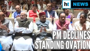 Watch: Why PM Modi declined standing ovation at BJP Parliamentary meet