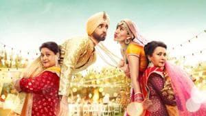 Jai Mummy Di poster shows Sunny Singh, Sonnalli Seygall, Supriya Pathak and Poonam Dhillon.
