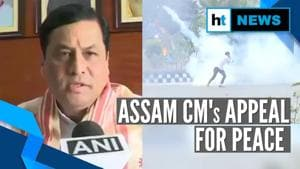 'People being misled': Assam CM Sarbananda Sonowal appeals for peace