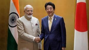 Japanese Prime Minister Shinzo Abe is considering cancelling his trip to India scheduled to begin on Sunday, Japan's Jiji Press reported.(REUTERS)