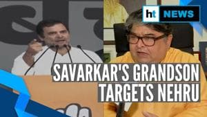 Savarkar's grandson targets Nehru after Rahul Gandhi's remark at Delhi rally