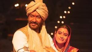Ajay Devgn stars with Kajol in the Tanhaji-The Unsung Warrior.