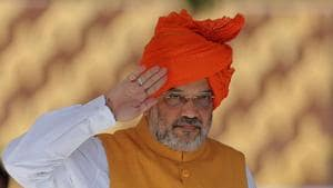 The home minister's visit to the North-east has been cancelled, a ministry official said, without citing any reason.(File photo: AP)