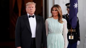 Melania Trump on Friday appeared to condone her husband's criticism of 16-year-old Greta Thunberg.(Reuters File Photo)